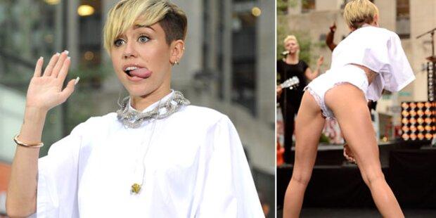 Miley, warum zeigst du uns wieder deinen Po?