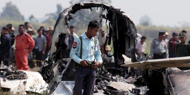 Neun Tote bei Militärjet-Abstürzen