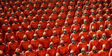 Militärparade Nordkorea