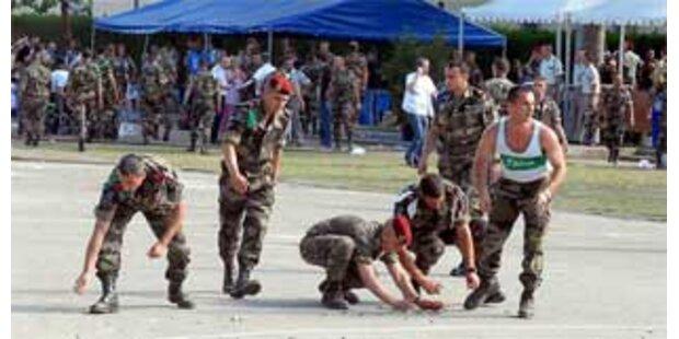 Soldat schoss scharf statt mit Platzpatronen