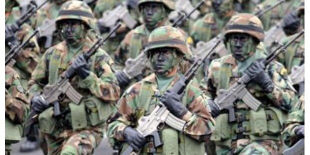 Grausame Militärstrafe: 4 tote Soldaten