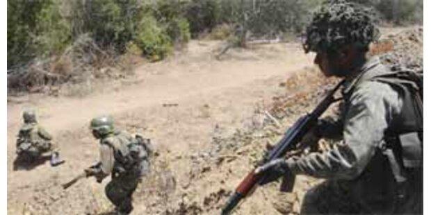 Militär tötete in Sri Lanka 60 Rebellen