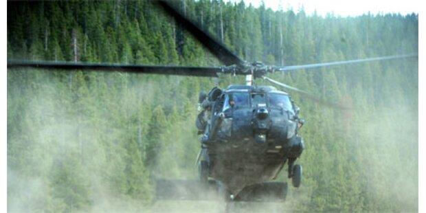 US-Militärhubschrauber-Absturz: 4 Tote