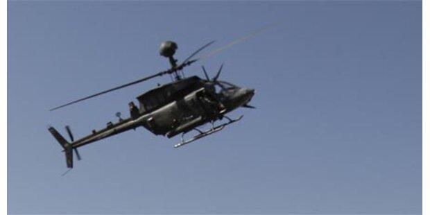 Hubschrauberabstürze - 14 Amerikaner tot