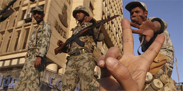 Armee will keine Gewalt anwenden