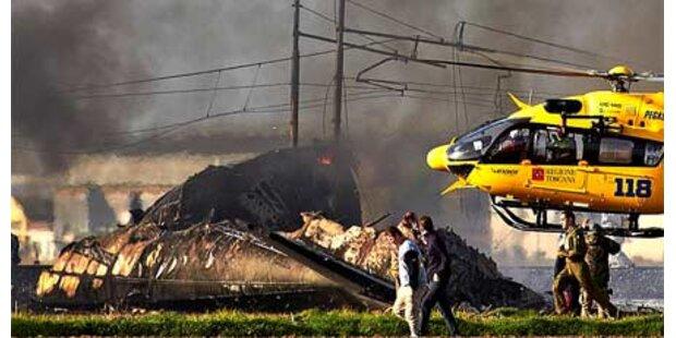 Italienisches Militärflugzeug abgestürzt
