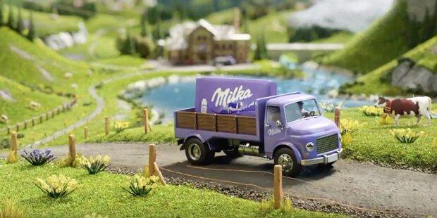 Milka rückt die Herkunft der Milch in den Fokus