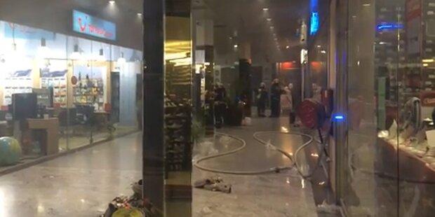 Feuer in Millennium City - Evakuierungen