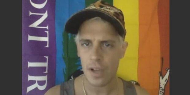 Schwule ziehen durch Moslem-Viertel