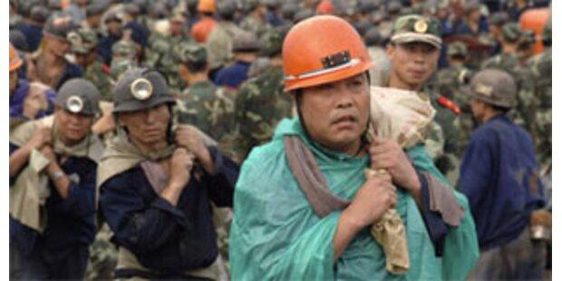 Geringe Überlebenschance für Bergleute