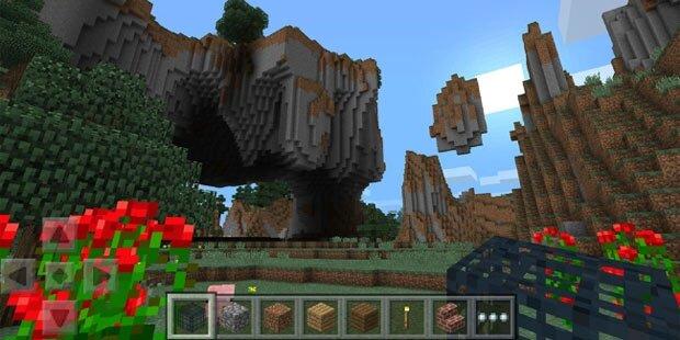 Minecraft am Smartphone zocken