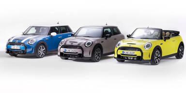Zweites Facelift für die kleinen Mini-Modelle