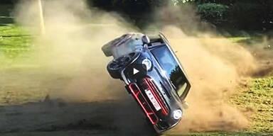 Youtuber schrottet stärksten Mini bei erster Testfahrt
