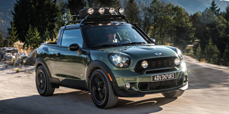 Mini zeigt Pick-up-Version des Paceman