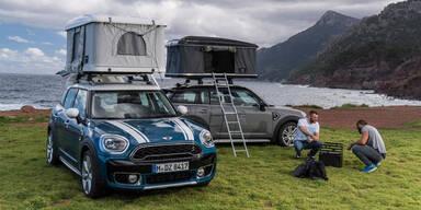 Mini Countryman wird zum Camping-Mobil