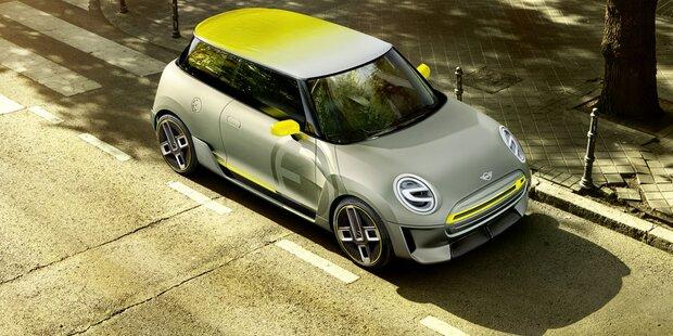 BMW hat mit dem Elektro-Mini viel vor