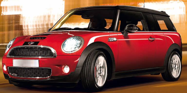 Schnellster Mini - für Beifahrer weniger lustig