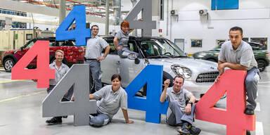 Magna baute schon 444.444 Mini