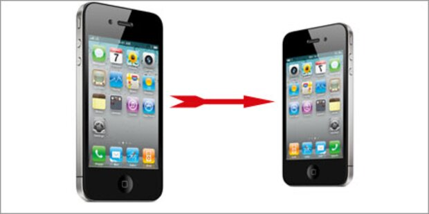 Apple bringt ein Mini-iPhone um 200 Dollar