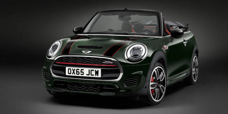 Neues Mini John Cooper Works Cabrio startet