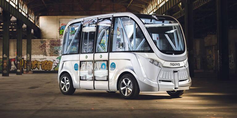 Wien erhält Linie mit fahrerlosem Bus