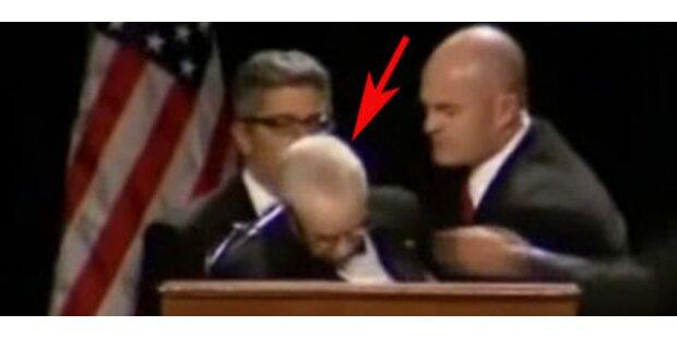 US-Justizminister brach während Rede zusammen
