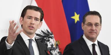 """Kurz lobt """"klaren Schritt"""" Straches"""