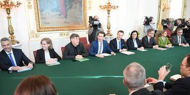'Seid ihr Opposition oder Regierung?!' Das Protokoll des Ministerrats-Streits