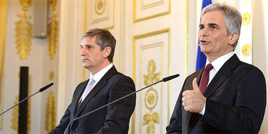 Ministerrat; Werner Faymann, Michael Spindelegger
