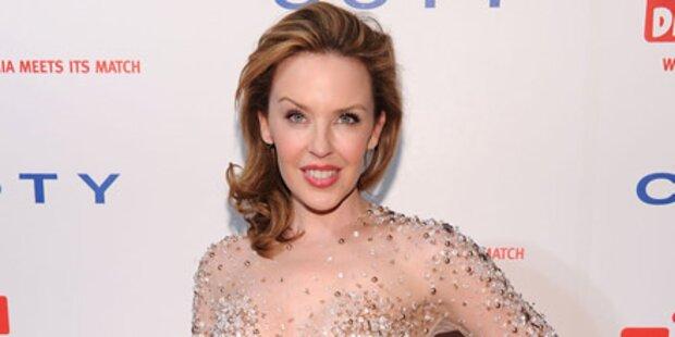 Kylie Minogue will Angelina küssen