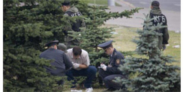 Bombe geht bei Staatsfeier in Minsk hoch