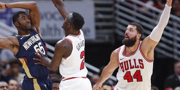 NBA-Star bricht Teamkollegen den Kiefer