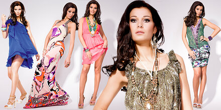Miss Austria zeigt Frühlings-Mode