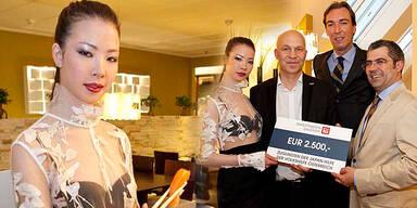 Charity-Dinner mit Miss Japan