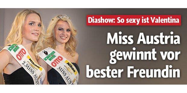 Neue Miss gewann vor bester Freundin
