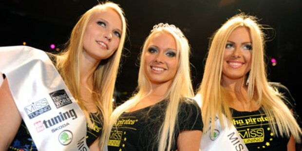 Mandy Lange ist die Miss Tuning 2011