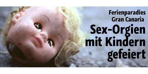 Sex-Orgien mit Kindern gefeiert