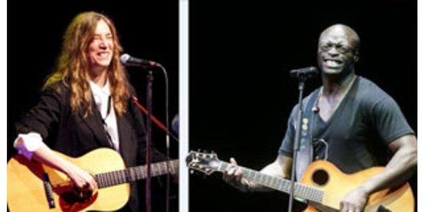 Patti Smith und Seal kommen nach Österreich