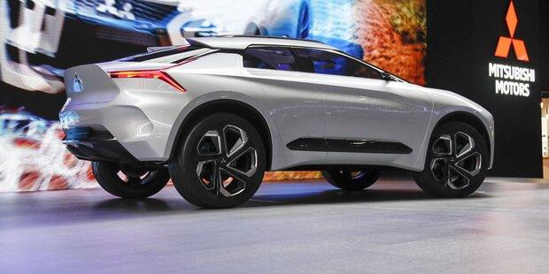 Mitsubishi zeigt innovativen Elektro-Crossover