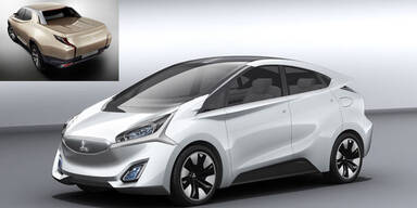 Mitsubishi zeigt i-MiEV 2 & Hybrid-Pick-up