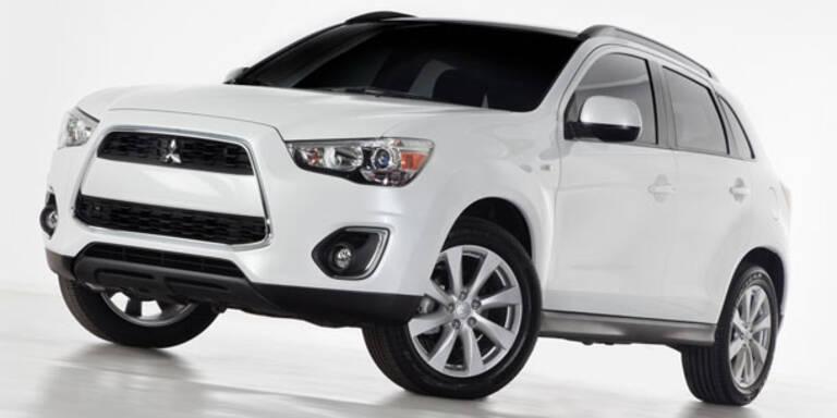 Mitsubisi: ASX-Facelift und neuer Kleinwagen