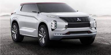 Mitsubishi zeigt neues SUV-Flaggschiff
