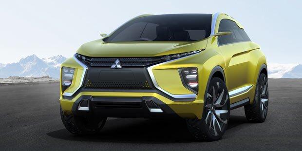 Mitsubishi zeigt coolen Crossover