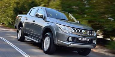 Neuer Mitsubishi L200 startet