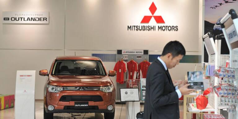 Mitsubishi bald mit Renault-Technik