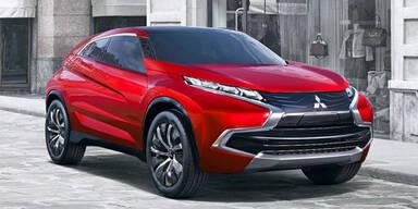 Mitsubishi zeigt sein neues Marken-Design