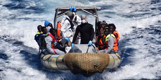 Flüchtlings-Unglück im Mittelmeer: 180 Vermisste