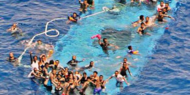 880 Flüchtlinge im Mittelmeer ertrunken