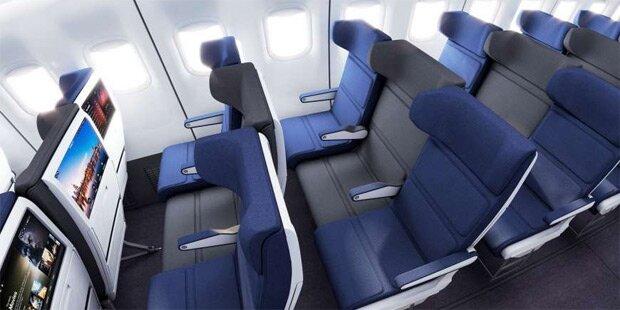 Kommt Mittelsitz-Revolution im Flugzeug?