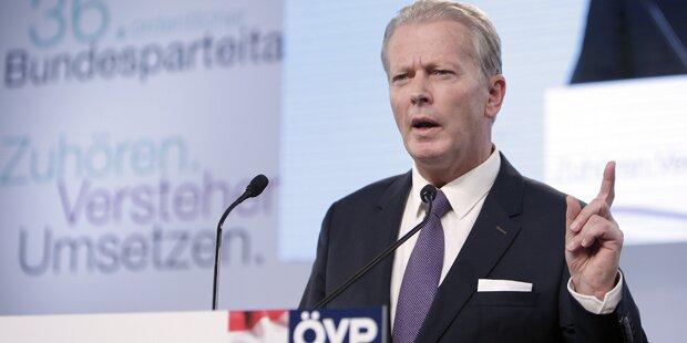 ÖVP-Chef verteidigt Steuer-Ultimatum